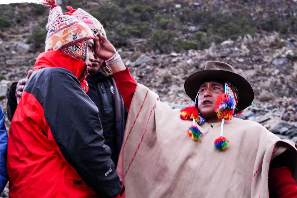 Trilha Salkantay - Trekking - Lago Humantay
