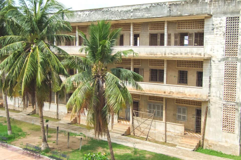 Prisão do Khmer Vermelho em Phnom Penh