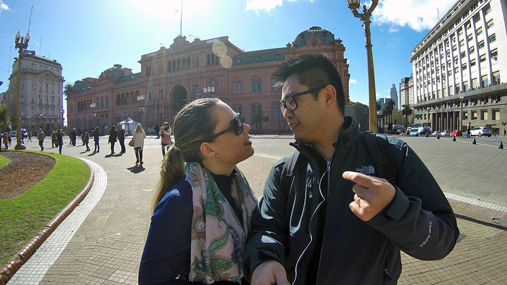 Visita guiada à Casa Rosada em Buenos Aires