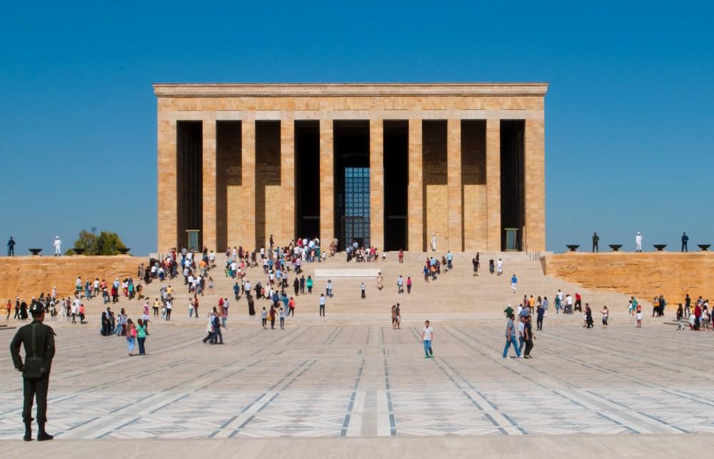 Mausoléu de Ataturk, Ancara, Turquia, agosto/2014. (Foto: Rafaela Ely)