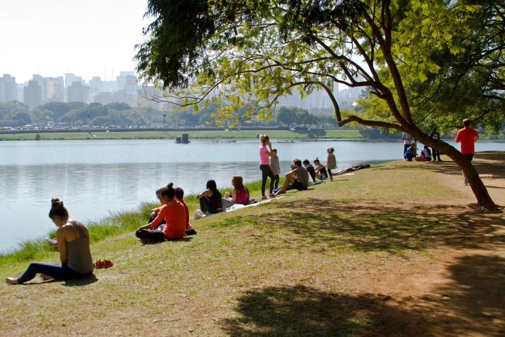 São Paulo: Parque Ibirapuera e Obelisco