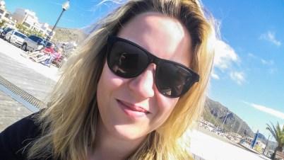 Das bin ich... Im Hafen von Port de Pollenca