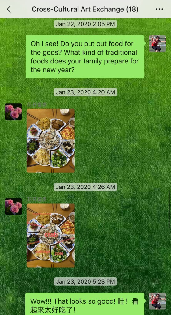 Weekly Conversations – Chinese New Year Traditional Foods