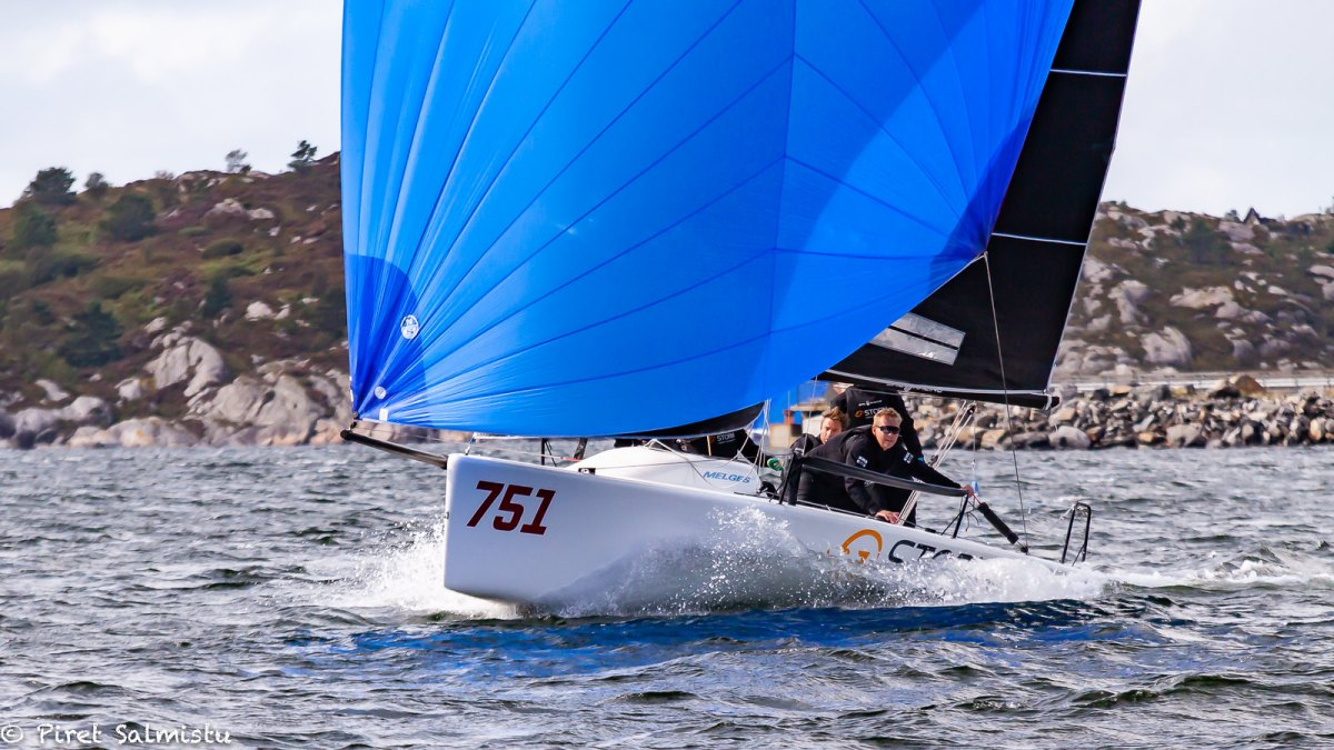Storm Capital Sail Racing NOR751 at the Melges 24 Norwegian Championship 2019 - Photo ©Piret Salmistu
