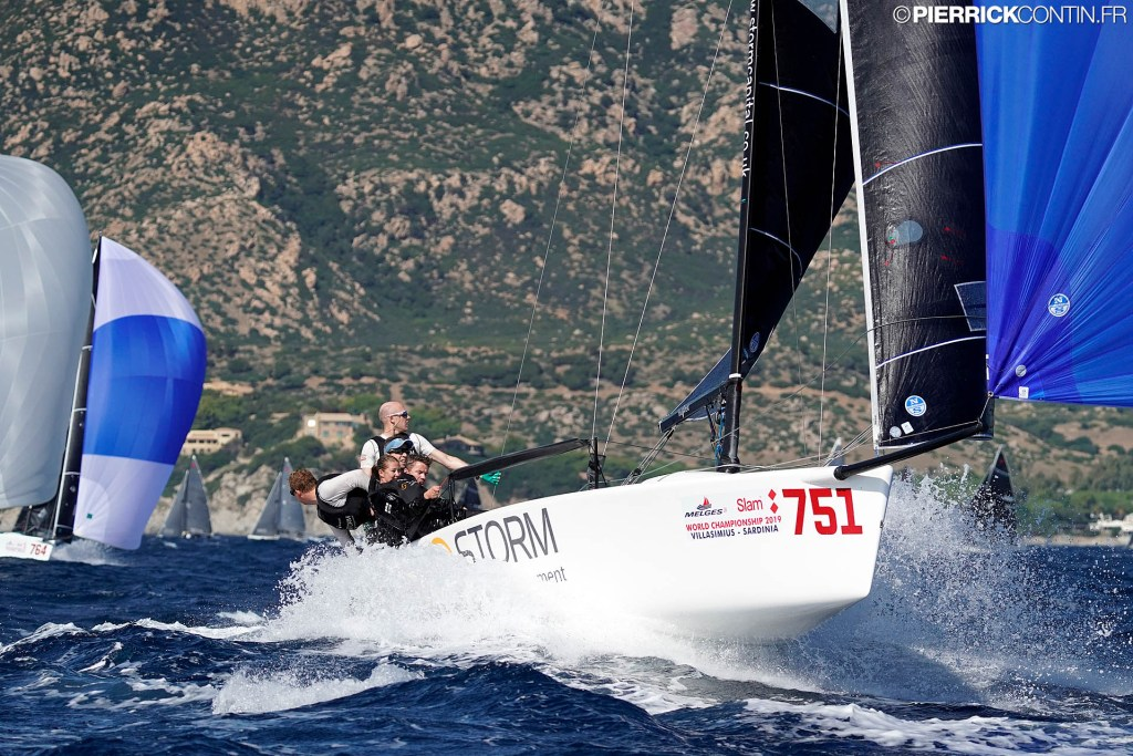 Storm Capital Sail Racing NOR751 with Peder Jahre completes the Corinthian provisional podium being eighth in overall rankings. Photo © Pierrick Contin / IM24CA