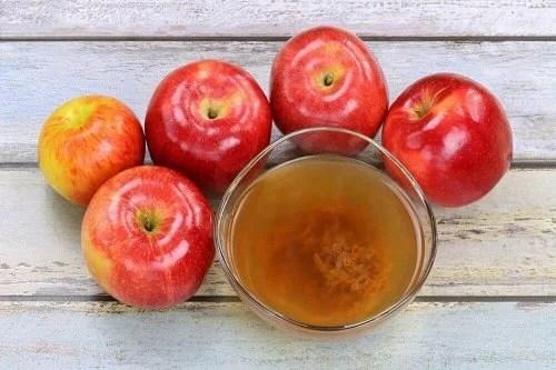 Vinagre de maçã para eliminar fungos
