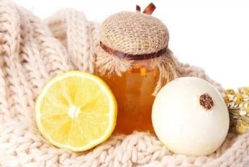 Cebola e limão contra a congestão no peito