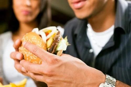 Dieta pouco saudável
