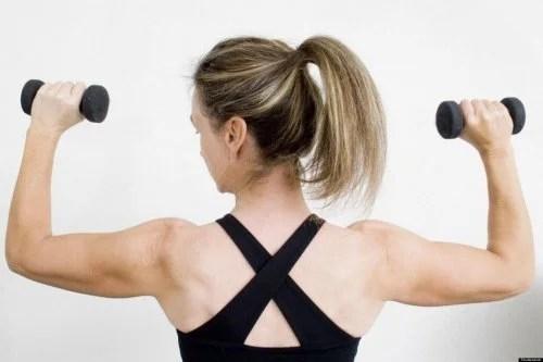 Exercício para os ombros