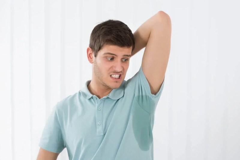 Como evitar o suor em excesso?