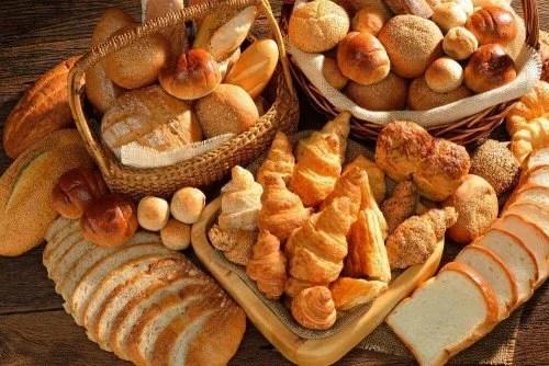 Pão para o café da manhã