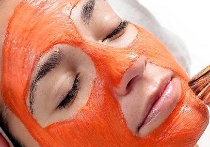 Resultado de imagem para creme de cenoura no rosto