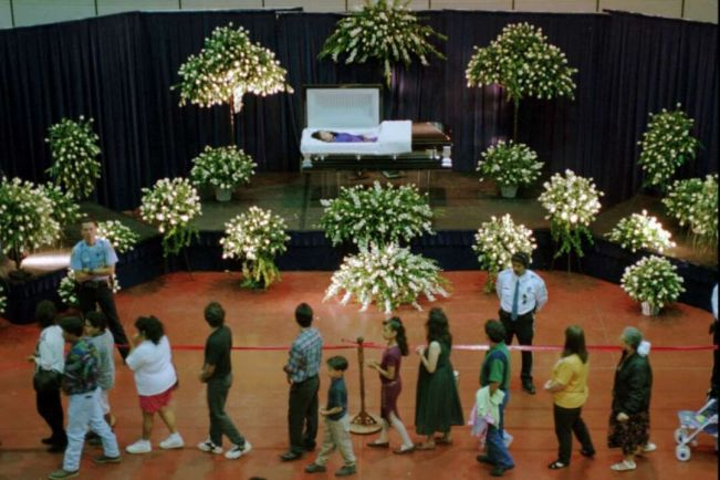 funeral aberto de selena quintanilla