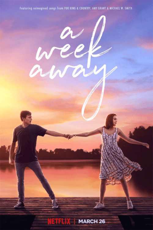 musical para família a uma semana de distância para Netflix em março de 2021 pôster