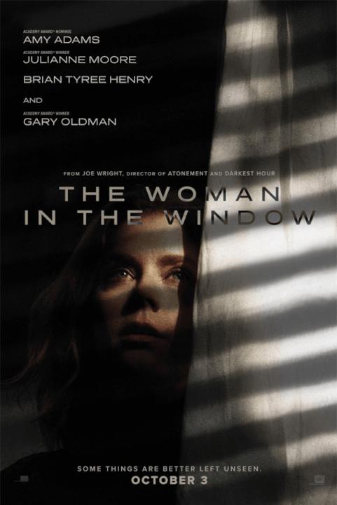 thriller psicológico, a mulher na janela, trama, trailer do elenco e pôster da data de lançamento da netflix