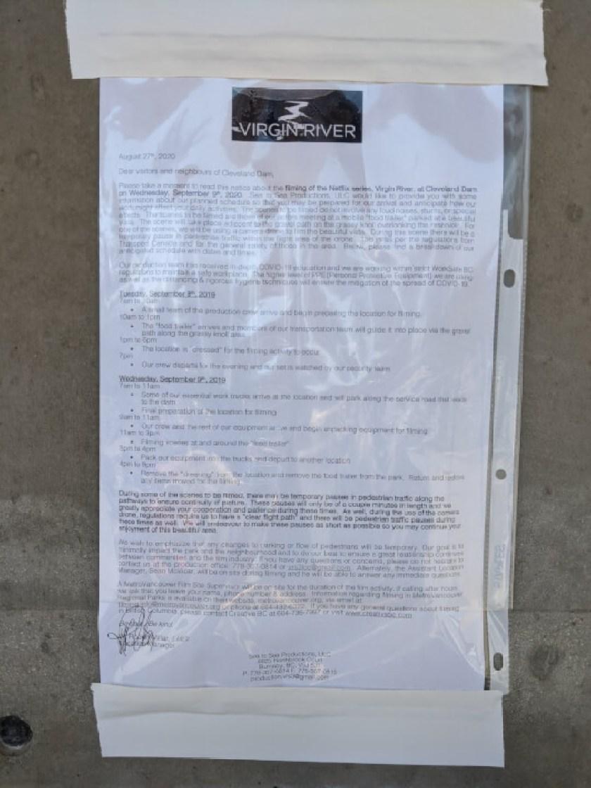 anúncio da produção da 3ª temporada do rio virgem