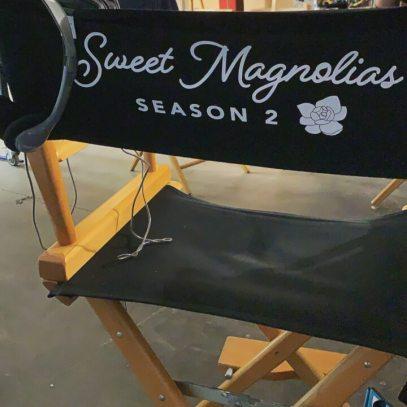 cadeira de cinema da 2ª temporada de magnólias doces