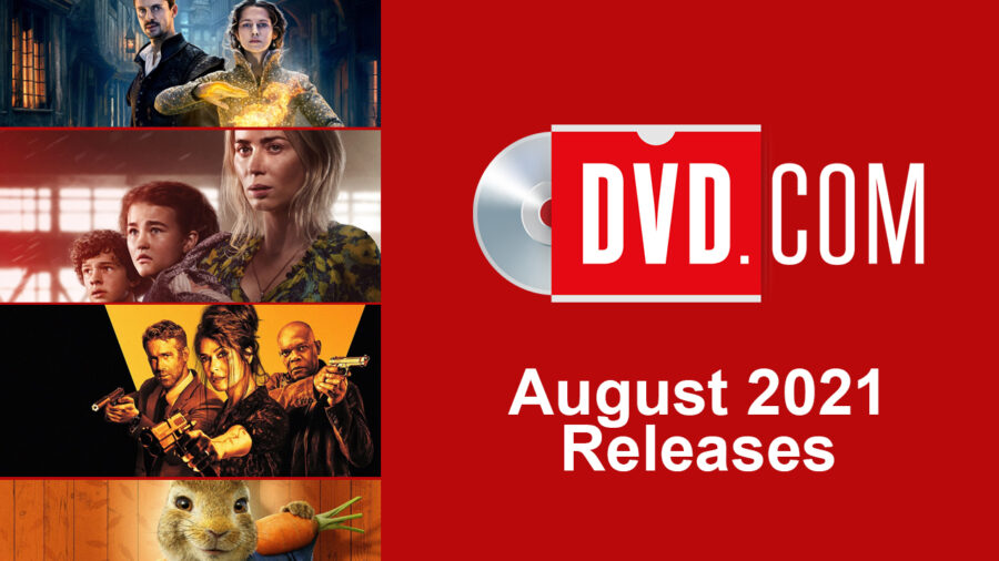 dvd releases august 2021