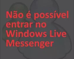 Entrar Windows Live Messenger