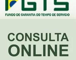 Consulta Extrato Saldo FGTS