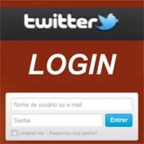 Entrar Twitter Login