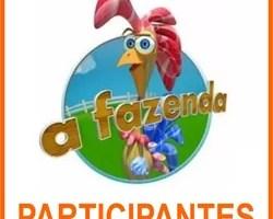 Participantes Fazenda 5 Record