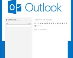 Fazer email Outlook