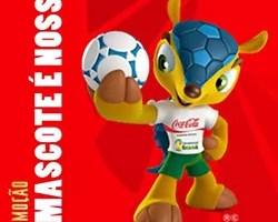Promoção Mascote Nosso Coca Cola