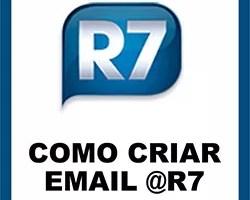 Criar email R7