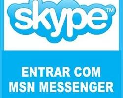 Entrar Skyp MSN Messenger