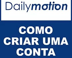 Criar conta Dailymotion
