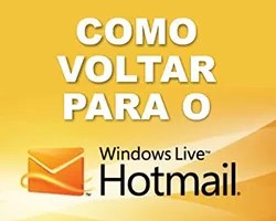 Sair Outlook Retornar Hotmail