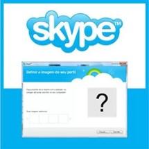 Trocar Foto Skype