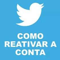 Reativar Twitter