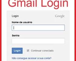 Gmail.com.br entrar login