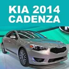 Cadenza 2014 Kia