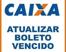 Atualizar boleto Caixa