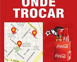 Trocar Garrafinhas Coca-Cola