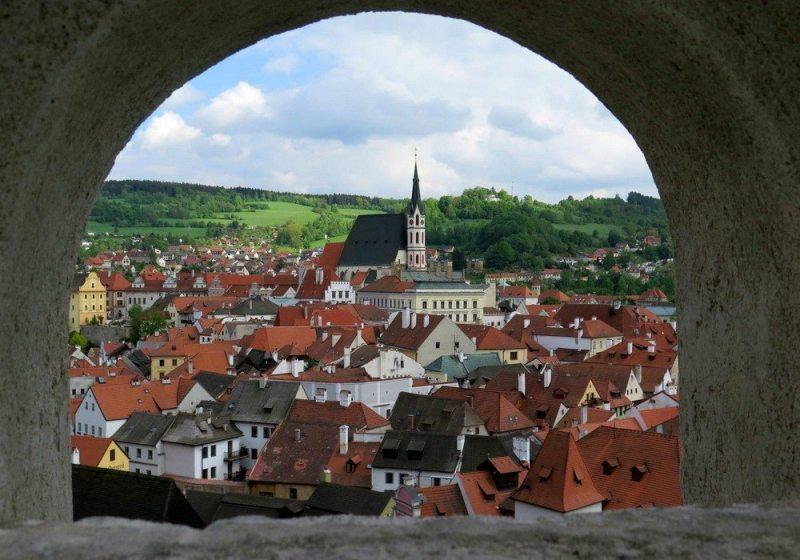 Centro Histórico de Cesky Krumlov (Cesky Krumlov, República Tcheca)