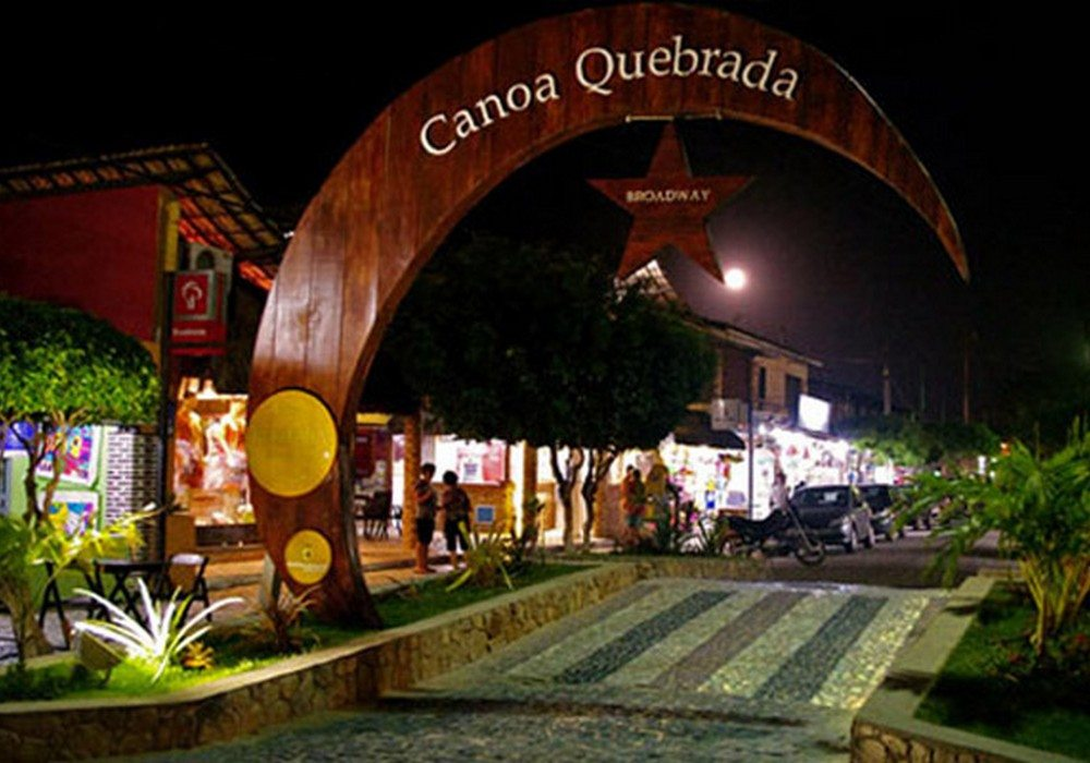 Noite Brodway Em Canoa Quebrada