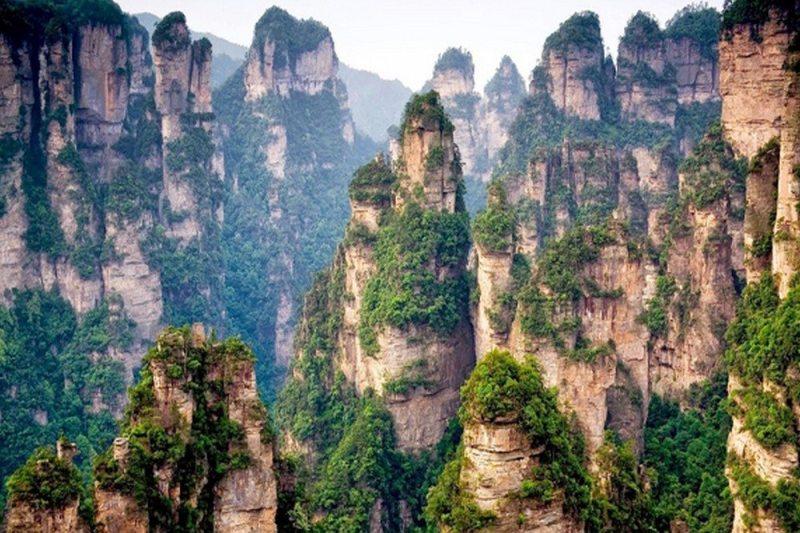 Montanhas Tianzi - China