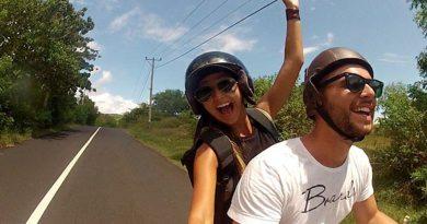 O casal Rodrigo Borges e Roberta Martiniano, criador do projeto Folga na Direção
