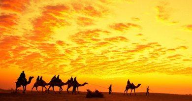 Golden Desert, no Rajastão