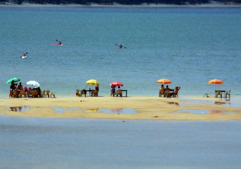 As praias