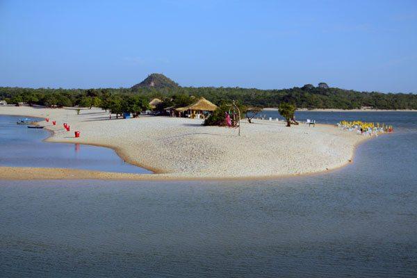 O rio Tapajós