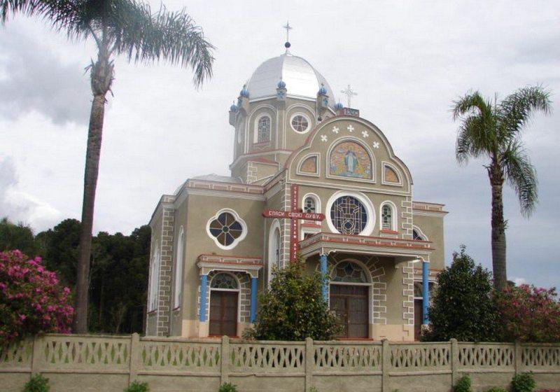 Igreja típica ucraniana