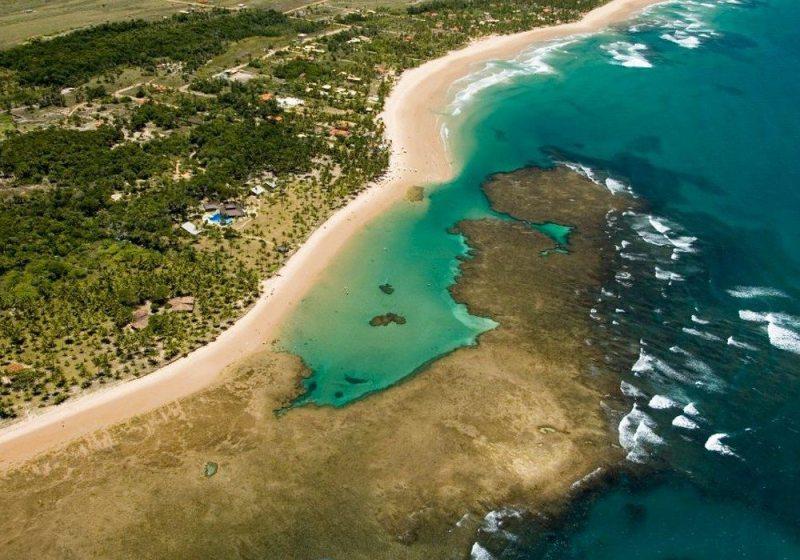 Península De Maraú Nas Férias De Julho