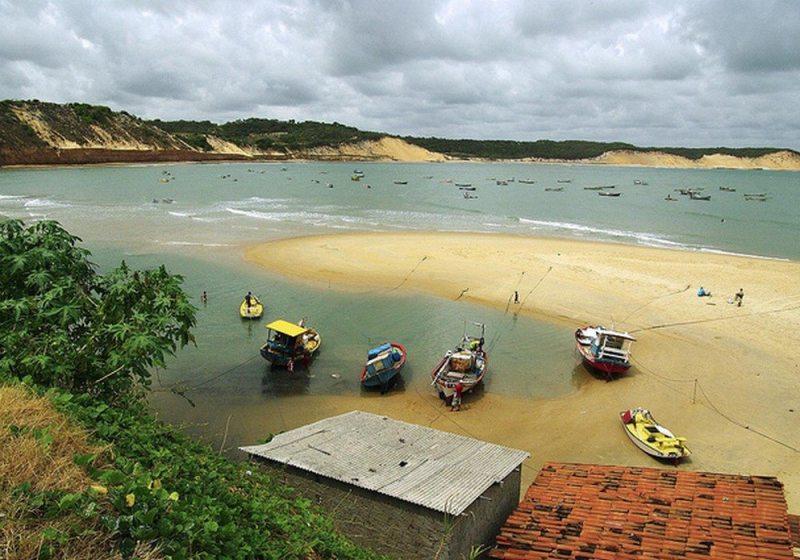 Belíssimas Praias Desertas De Baía Formosa