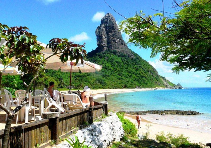 Praia Em Fernando De Noronha
