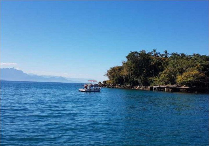 Barco Mar De Paraty